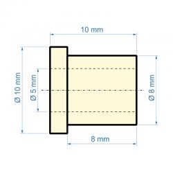 Kluzné ložisko pr. 5 mm