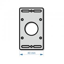 Držák krokového motoru NEMA 16 (17)